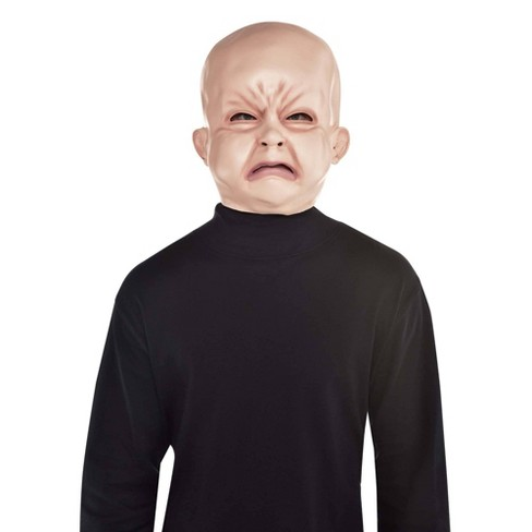 Creepy Baby Full Head Halloween Costume Mask - image 1 of 1