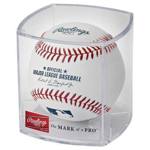 d0504e3004a Rawlings MLB Official League Baseball With Case And Stand   Target