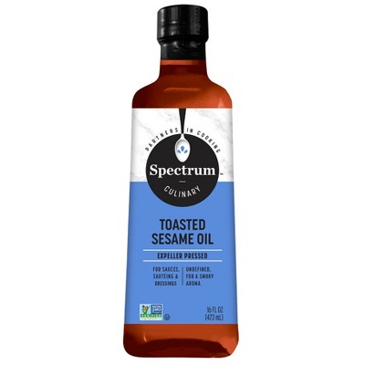 Cooking Oils: Spectrum Toasted Sesame Oil
