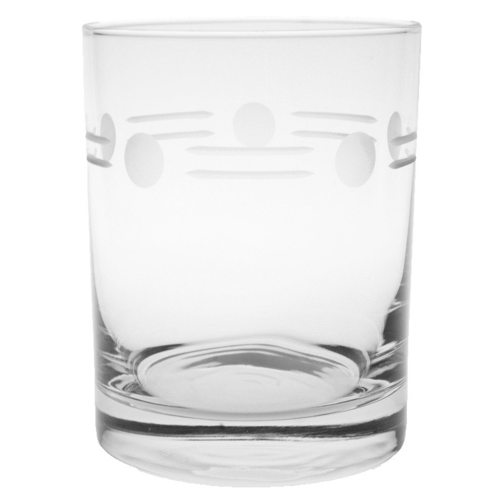 Image of 14oz 4pk Boogie Double Old-Fashioned Glasses - Rolf Glass, Clear