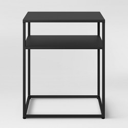 Glasgow Metal End Table Black - Project 62™