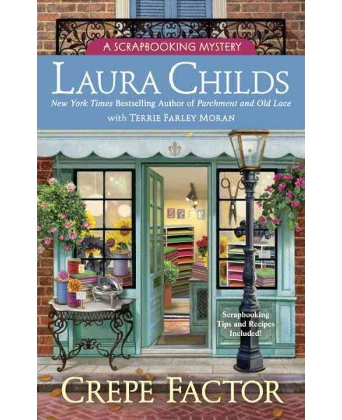 Crepe Factor (Hardcover) (Laura Childs) - image 1 of 1