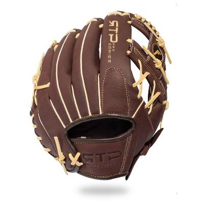 "Franklin Sports 11"" Pigskin Brown/Camel Baseball Glove - Right Hand Thrower"