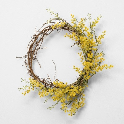 Faux Crespedia Wreath - Hearth & Hand™ with Magnolia