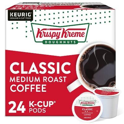 Krispy Kreme Doughnuts Classic - Coffee Pods - Medium Roast - 24ct