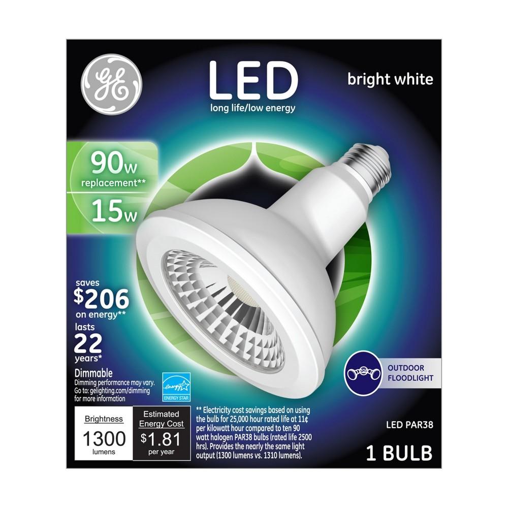 General Electric Led 90w Par38 Outdoor Floodlight Light Bulb Bright White