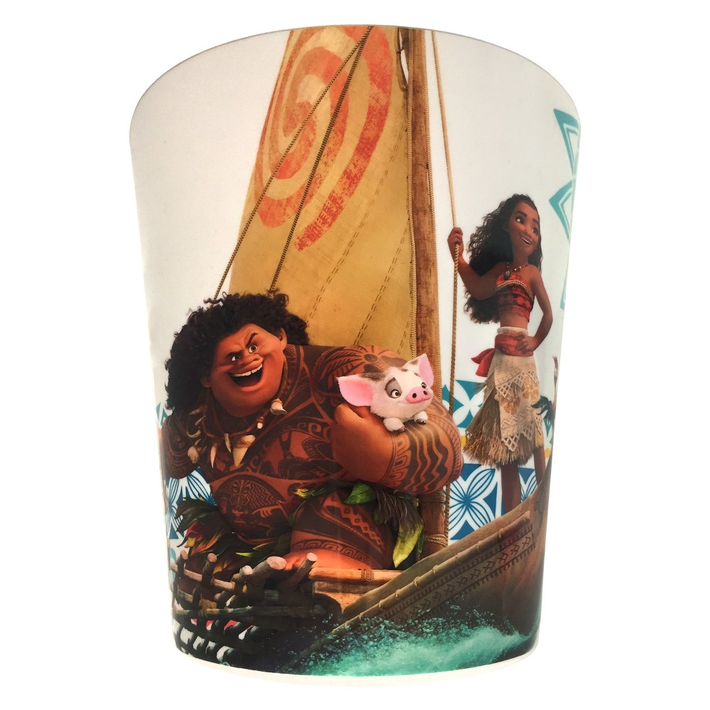 Image of Disney Moana Bathroom Wastebasket