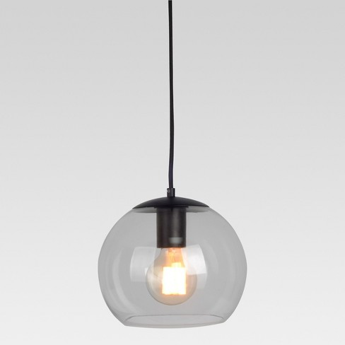 Menlo Small Glass Globe Pendant Ceiling Light - Project 62™ - image 1 of 2