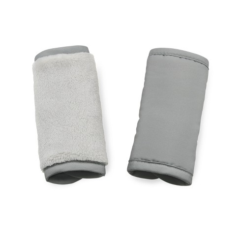 Go by Goldbug Reversible Car Seat Strap Cover - Gray - image 1 of 4