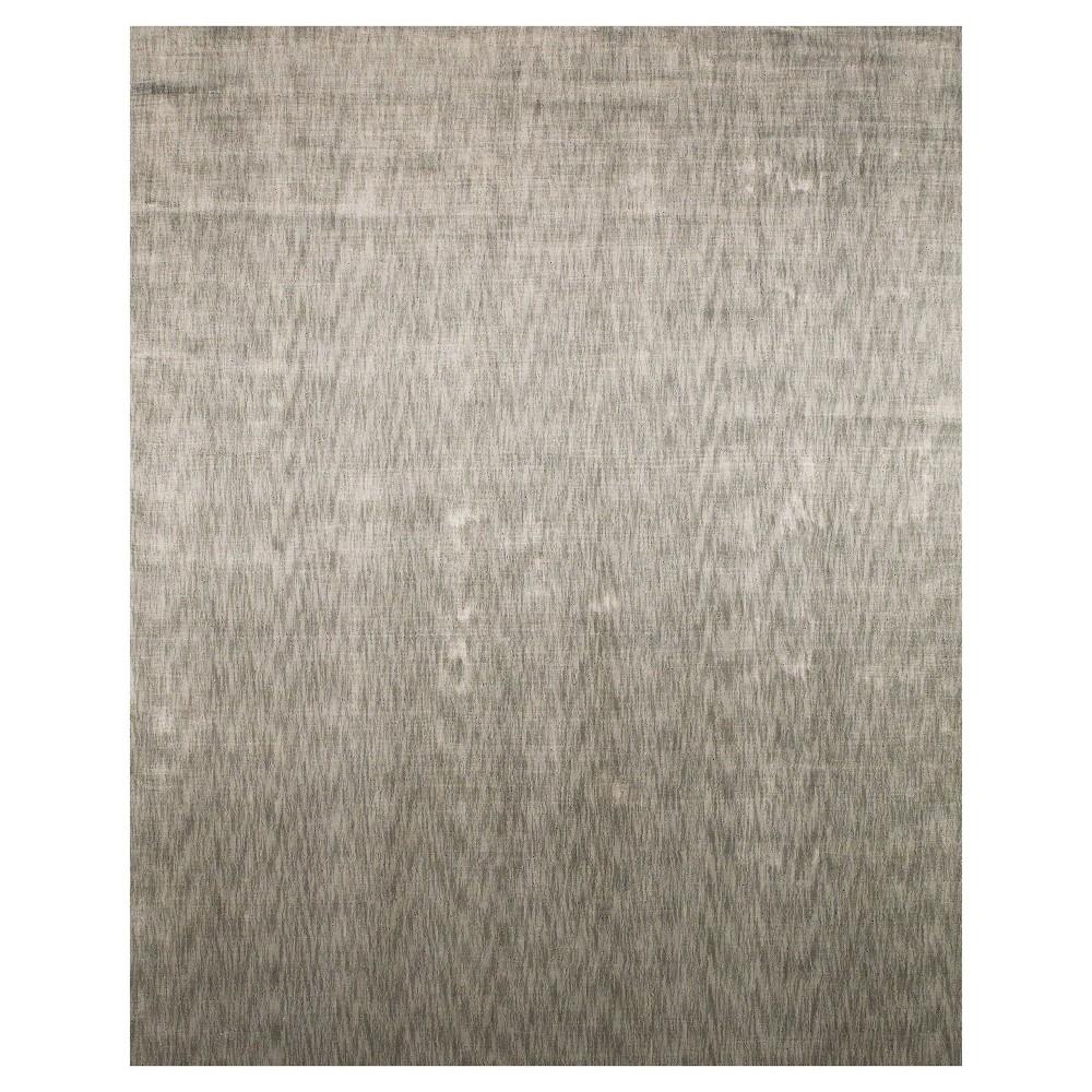 Light Gray Woven Area Rug - (9'6