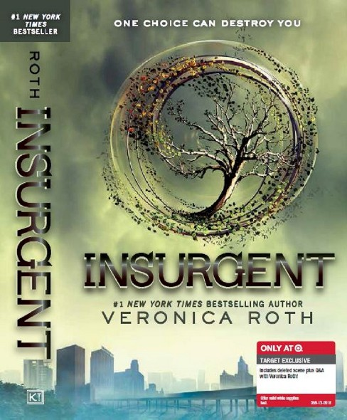 Insurgent ( Divergent) (Reissue) (Paperback) by Veronica Roth - image 1 of 2