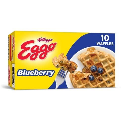 Kellogg's Eggo Blueberry Frozen Waffles - 12.3oz/10ct - image 1 of 4