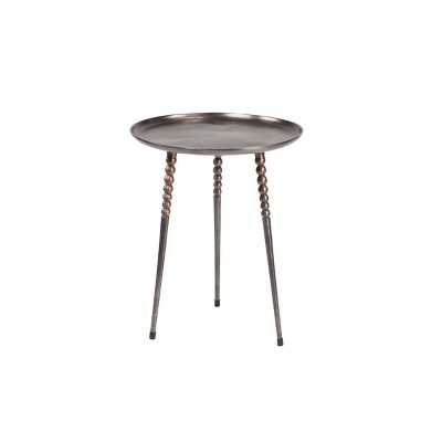 Modern Side Table Silver - Olivia & May