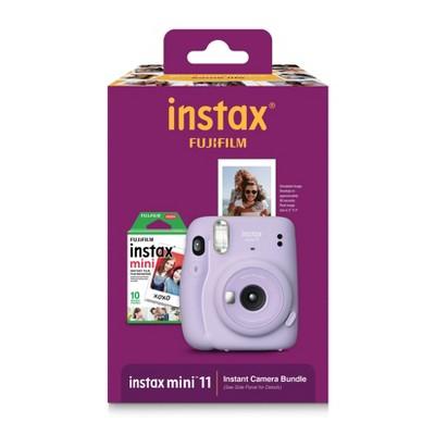 Fujifilm Instax Mini 11 Instant Film Camera Bundle - Purple