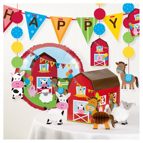 Farm Fun Birthday Party Decorations Kit - image 1 of 2