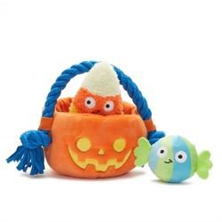 BARK Sweet Squeak Swag Halloween Candy Dog Toy
