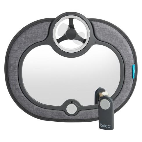 Munchkin Brica Breeze Baby In-Sight Fan Car Mirror - Gray - image 1 of 4
