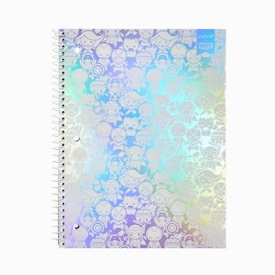 Spiral Notebook 1 Subject College Ruled Kawaii Avengers - Yoobi™