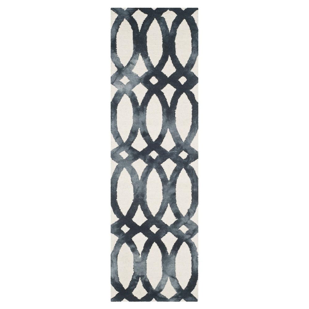 Adney Area Rug - Ivory/Graphite (Ivory/Grey) (2'3x8') - Safavieh
