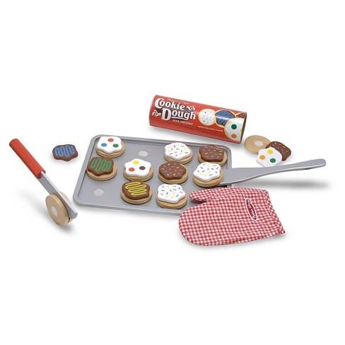 Melissa & Doug Slice and Bake Wooden Cookie Play Food Set - image 1 of 4