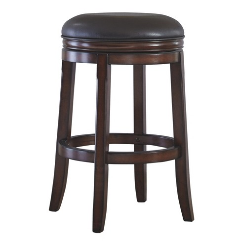 Porter Tall Uph Swivel Stool Rustic Brown - Signature Design by Ashley - image 1 of 2