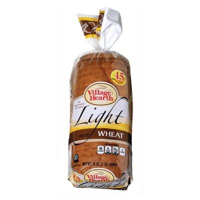 Village Hearth Light Wheat Bread - 16oz