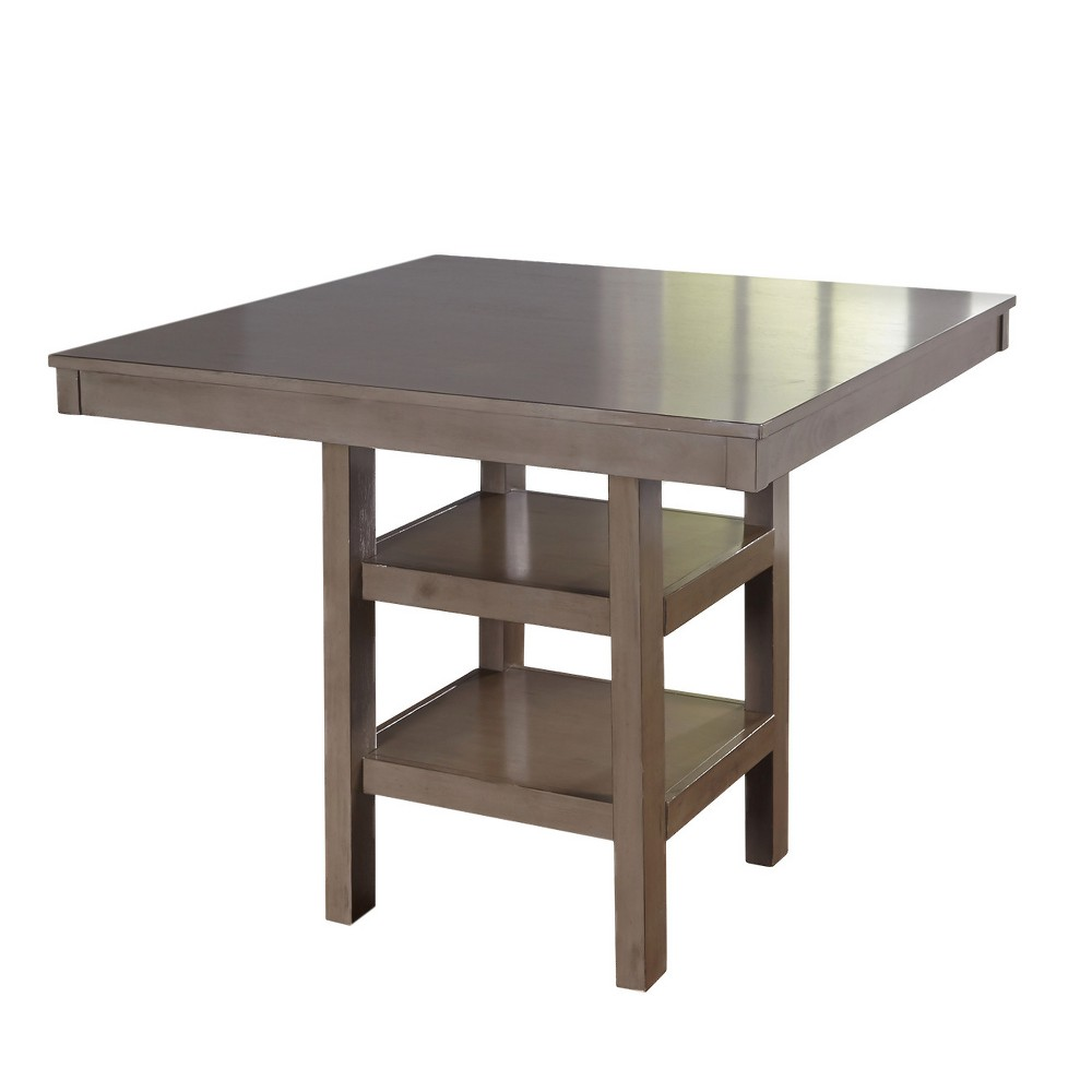 Simon Counter Height Table - Gray - Target Marketing Systems