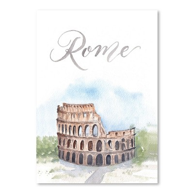 Americanflat Rome by Cami Monet Poster