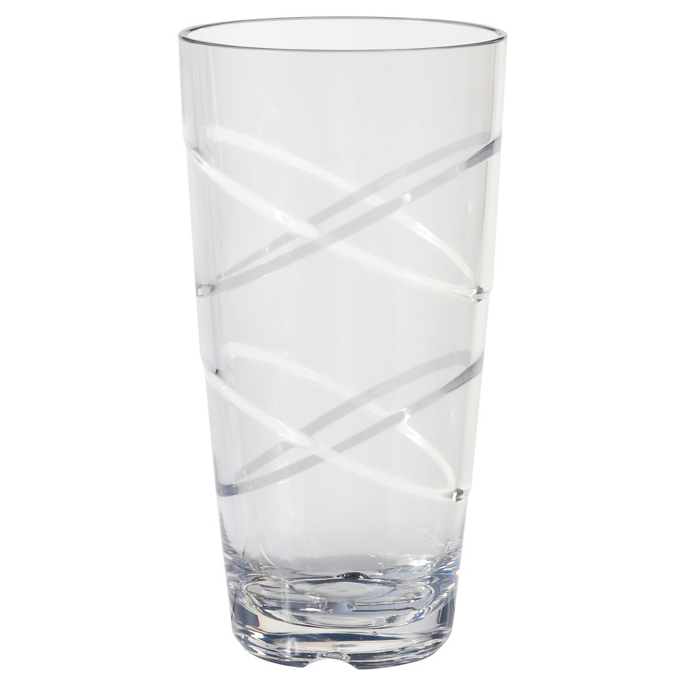 Image of CreativeWare 24oz 10pk Circus Tumblers, Clear
