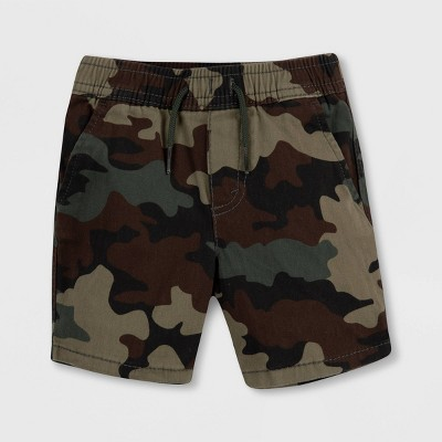 Levi's® Baby Boys' Box Tab Camo Pull-On Chino Pants - Green