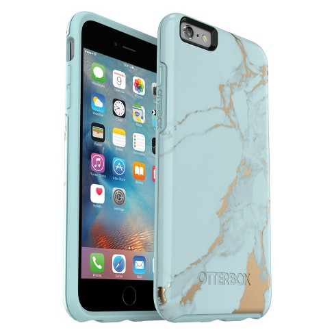 8cac892e56b OtterBox Apple IPhone 6 Plus/6s Plus Symmetry Case - Teal Marble : Target