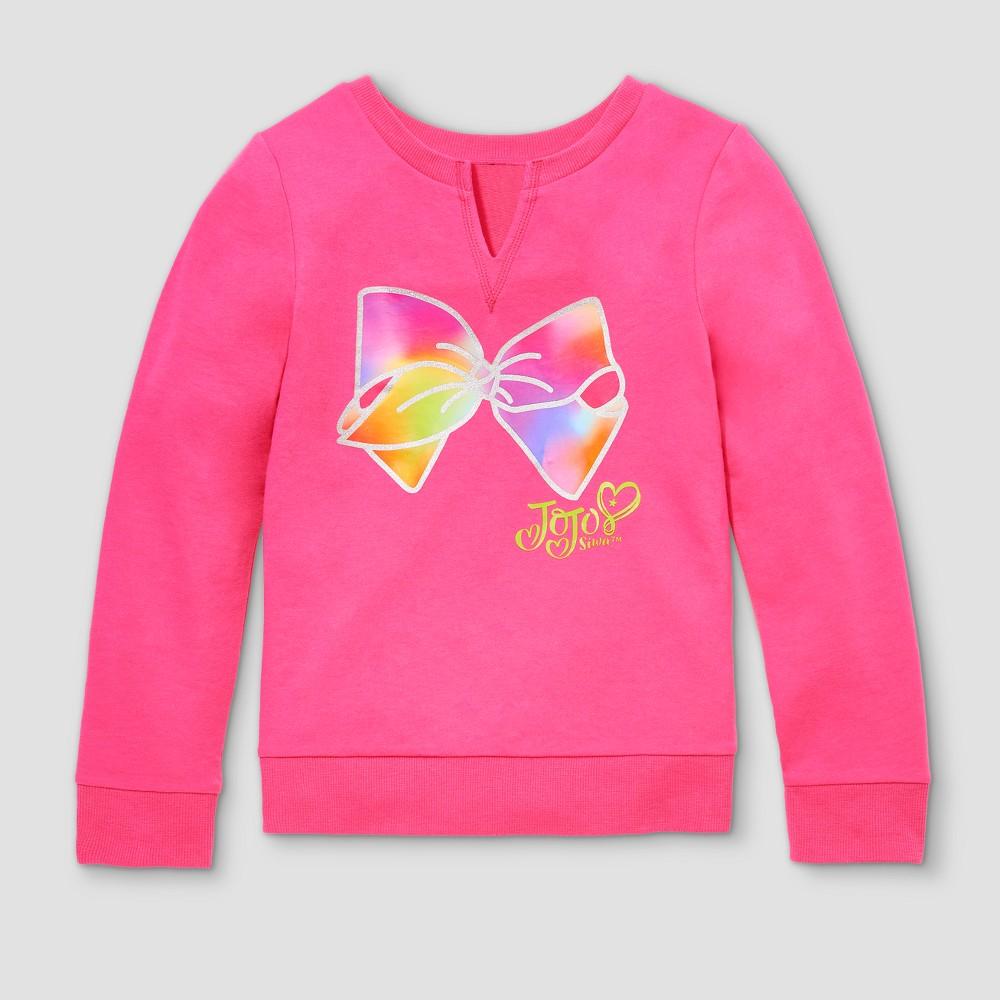 Girls' JoJo Siwa Activewear Sweatshirt - Pink L