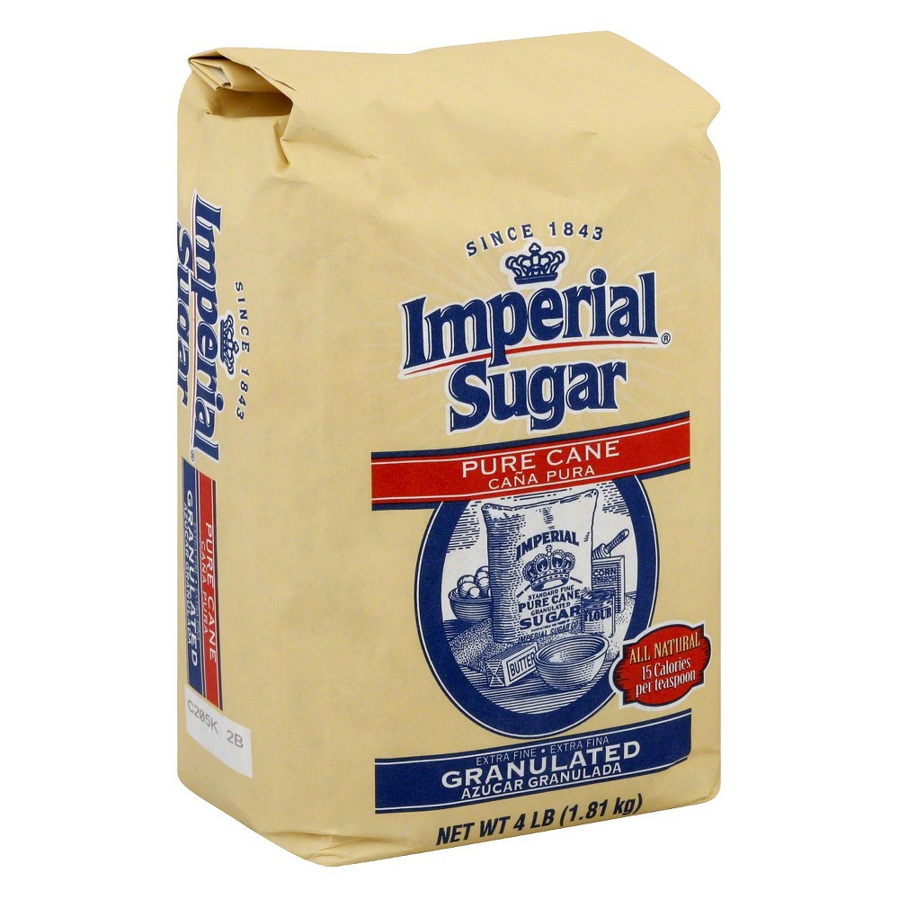 Imperial Granulated Sugar - 4 lb