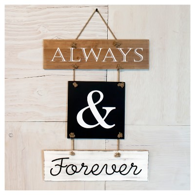 Always & Forever Wall Decor(18 x20 )- VIP Home & Garden