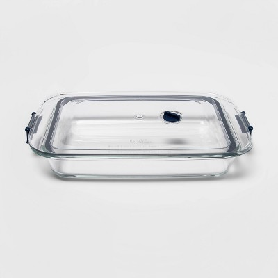 3qt Glass Baking Dish with Locking Lid - Made By Design™