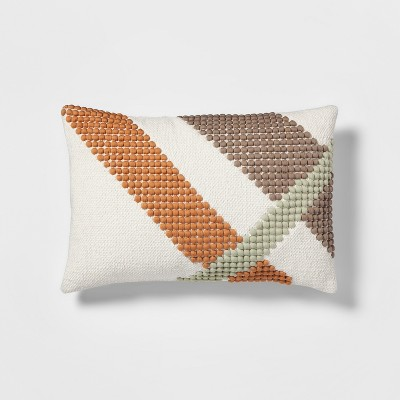 Multi Bubble Geo Lumbar Throw Pillow - Project 62™