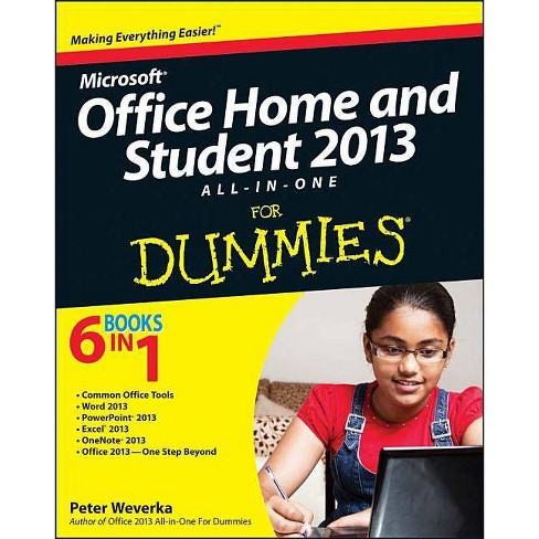 Office Home & Student 2013 All-In-One for Dummies - (For Dummies) by  Peter Weverka (Paperback) - image 1 of 1