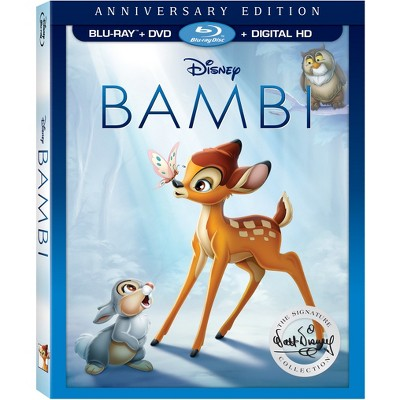 Bambi: The Walt Disney Signature Collection (Blu -ray + DVD + Digital)