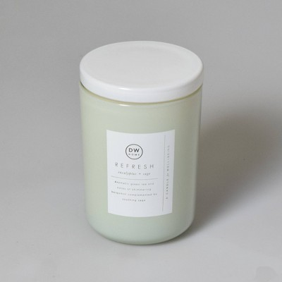 8oz Wellness Spa/Refresh Eucalyptus and Sage Candle - DW Home