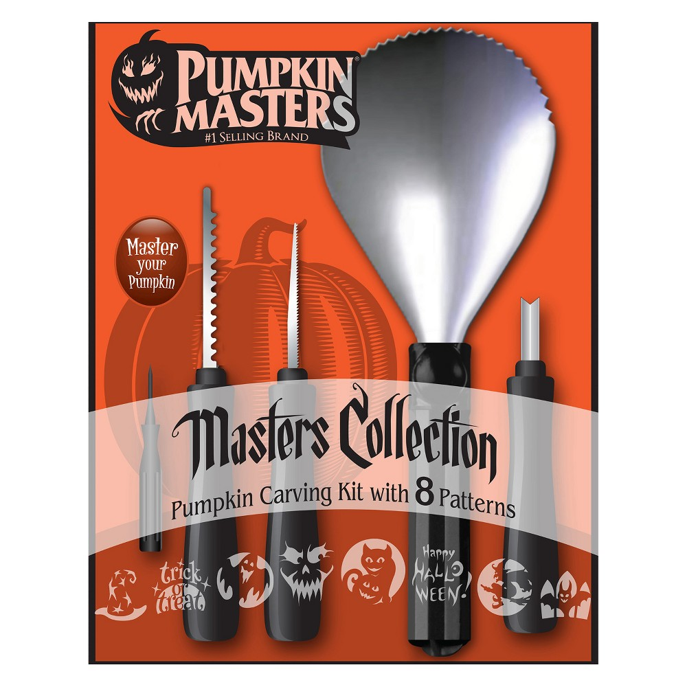 Halloween Pumpkin Masters Collection Carving Kit, Multi-Colored