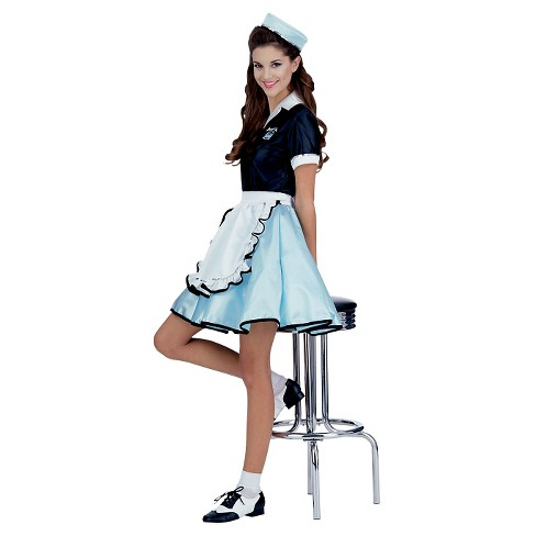 Women's Car Hop Girl Costume X-Small/Small - image 1 of 1