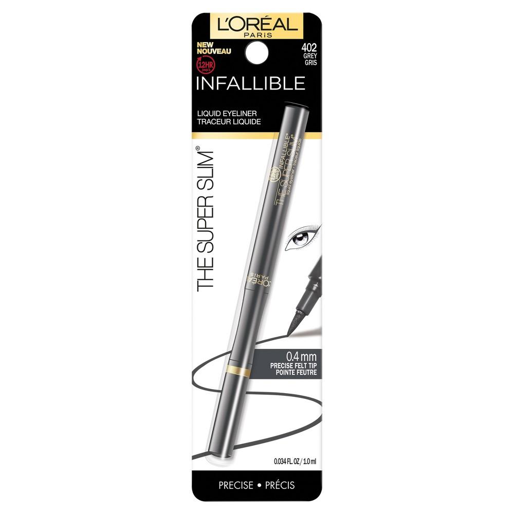 L'Oreal Paris Infallible Super Slim Liner 402 Grey - 0.0034 fl oz
