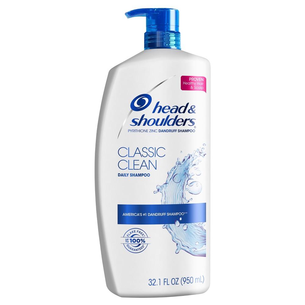 Head & Shoulders Classic Clean Dandruff Shampoo - 32.1 fl oz