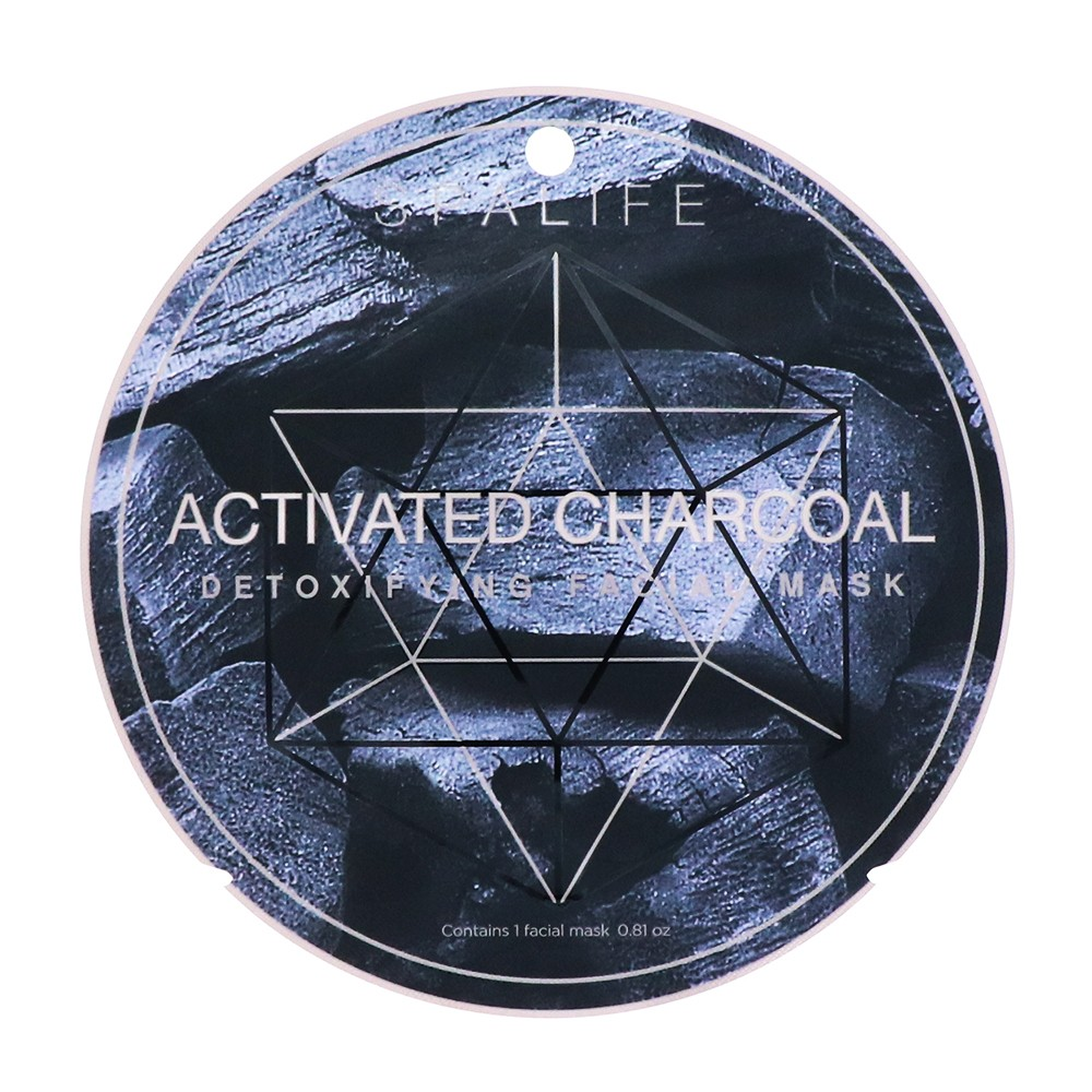 My Spa Life Activated Charcoal Detoxifying Mask Facial Treatment