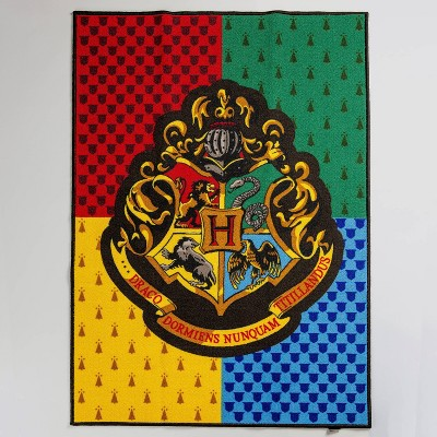 "Harry Potter 39""x54"" Hogwarts Crest Rug"
