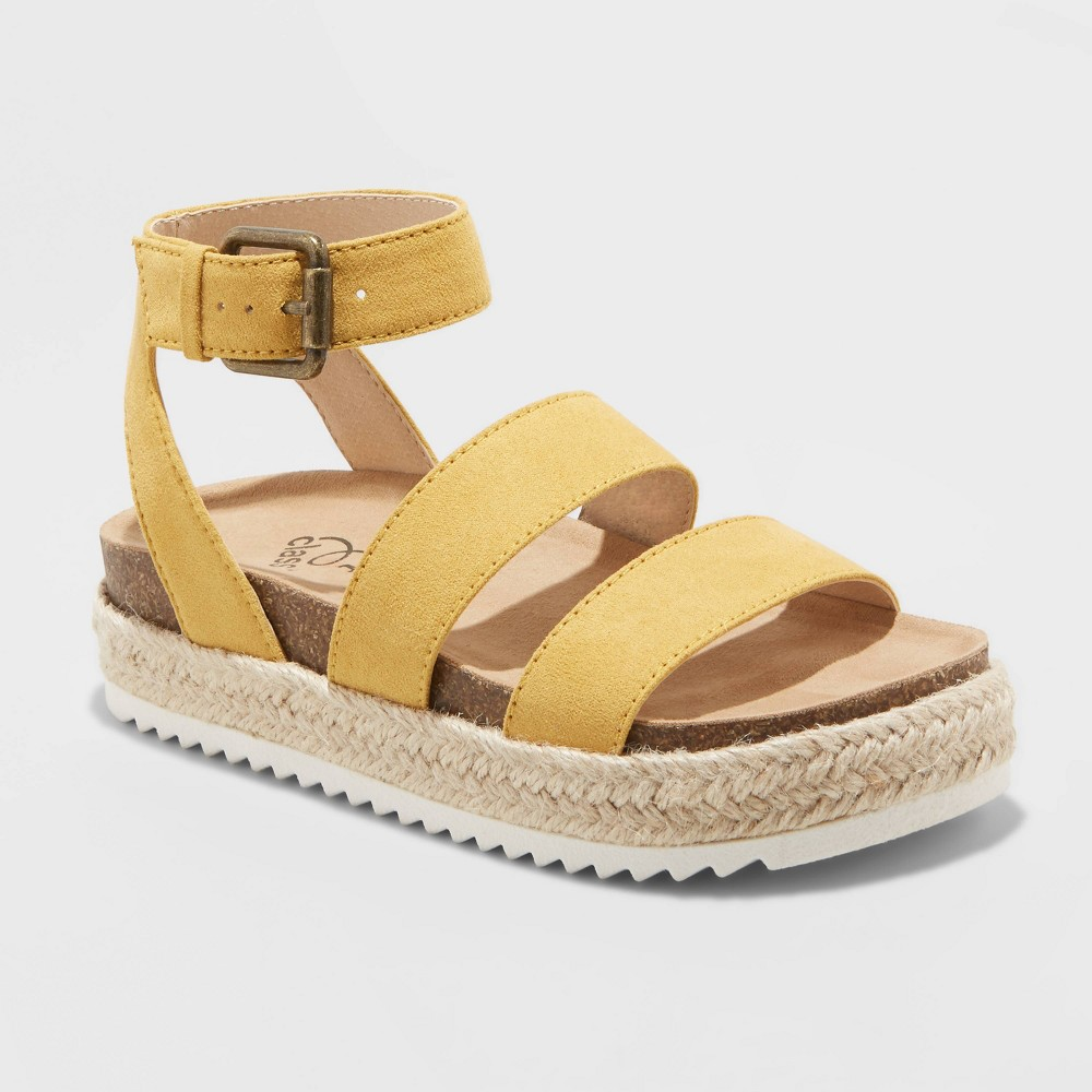 Image of Girls' Agatha Ankle Strap Sandals - art class Yellow 13, Toddler Girl's