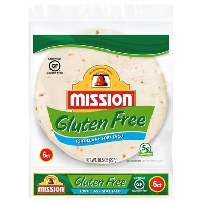Mission Taco Size Gluten Free Tortillas - 10.5oz/6ct