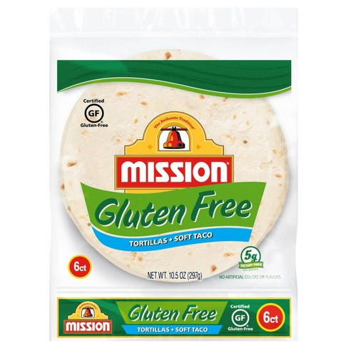 Mission Taco Size Gluten Free Tortillas - 10.5oz/6ct - image 1 of 3