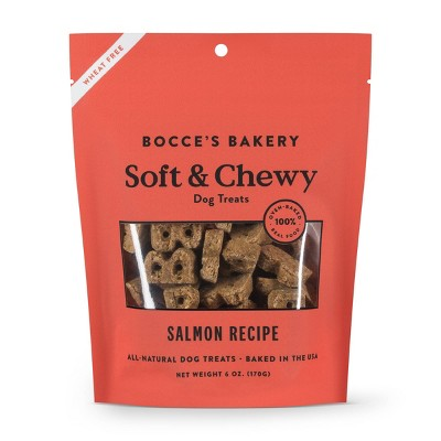 Bocce's Bakery Salmon Basic Soft and Chewy Dog Treats - 6oz