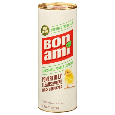 Bon Ami Unscented Household Cleaner - 21oz